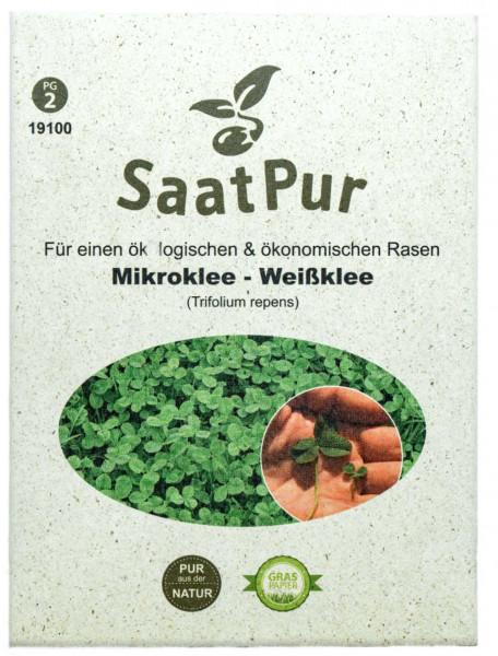 Saatgut Mikroklee, 50 g Naturrasen Rasenklee für ca. 25 m²