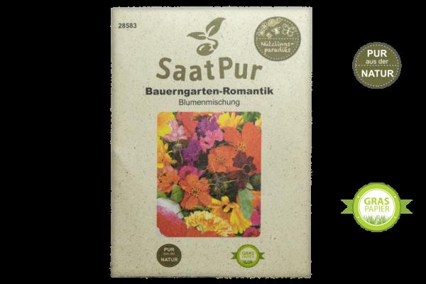 Blumenmischung Bauerngarten-Romantik