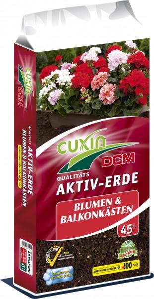 CUXIN DCM AKTIV-ERDE für Blumen- und Balkonkästen