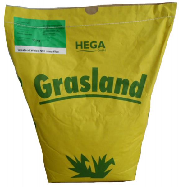 Grasland Dauerweide Nr. II ohne Klee Weidemischung