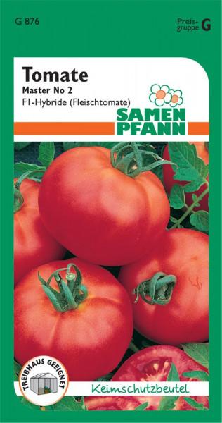 Tomate Master No 2 Fleischtomate FI -Hybride