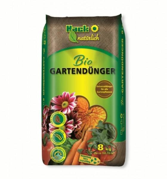 Bio Gartendünger natürlich - 8kg -Universaldünger für Gemüse und Blumen