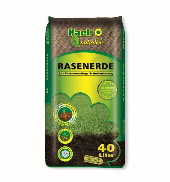 Bio Rasenerde für Rasenneuanlagen und Ausbesserung Torffrei 40 Ltr.