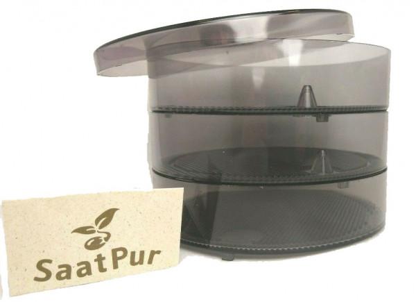 SaatPur Sprossenbox Set 2 - Keimgarten Keimbox Keimsaat Keimgerät Sprossen ziehen-