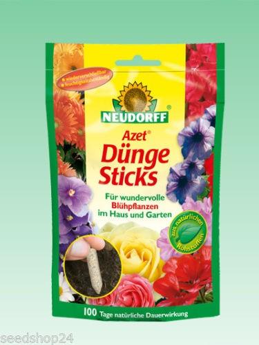 Neudorff - Azet Dünge Sticks für Blühpflanzen