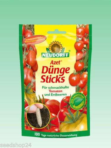 Neudorff - Azet Dünge Sticks für Tomaten und Erdbeeren