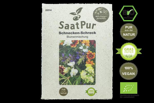 Blumenmischung Schnecken-Schreck