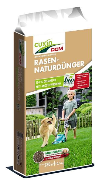 Rasendünger Naturdünger Bio CUXIN unbedenklich für Mensch und Tier