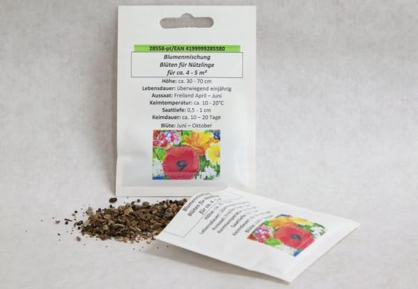 Blumenmischung Blüten für Nützlinge