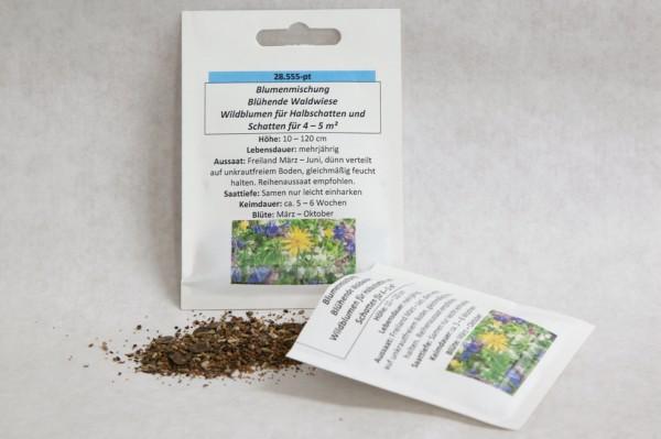 Wildblumen-Mischung Blühende Waldwiese