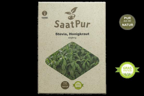 Stevia rebaudiana (Honig- oder Süßkraut) - 20 Korn für ca. 12 Pflanzen